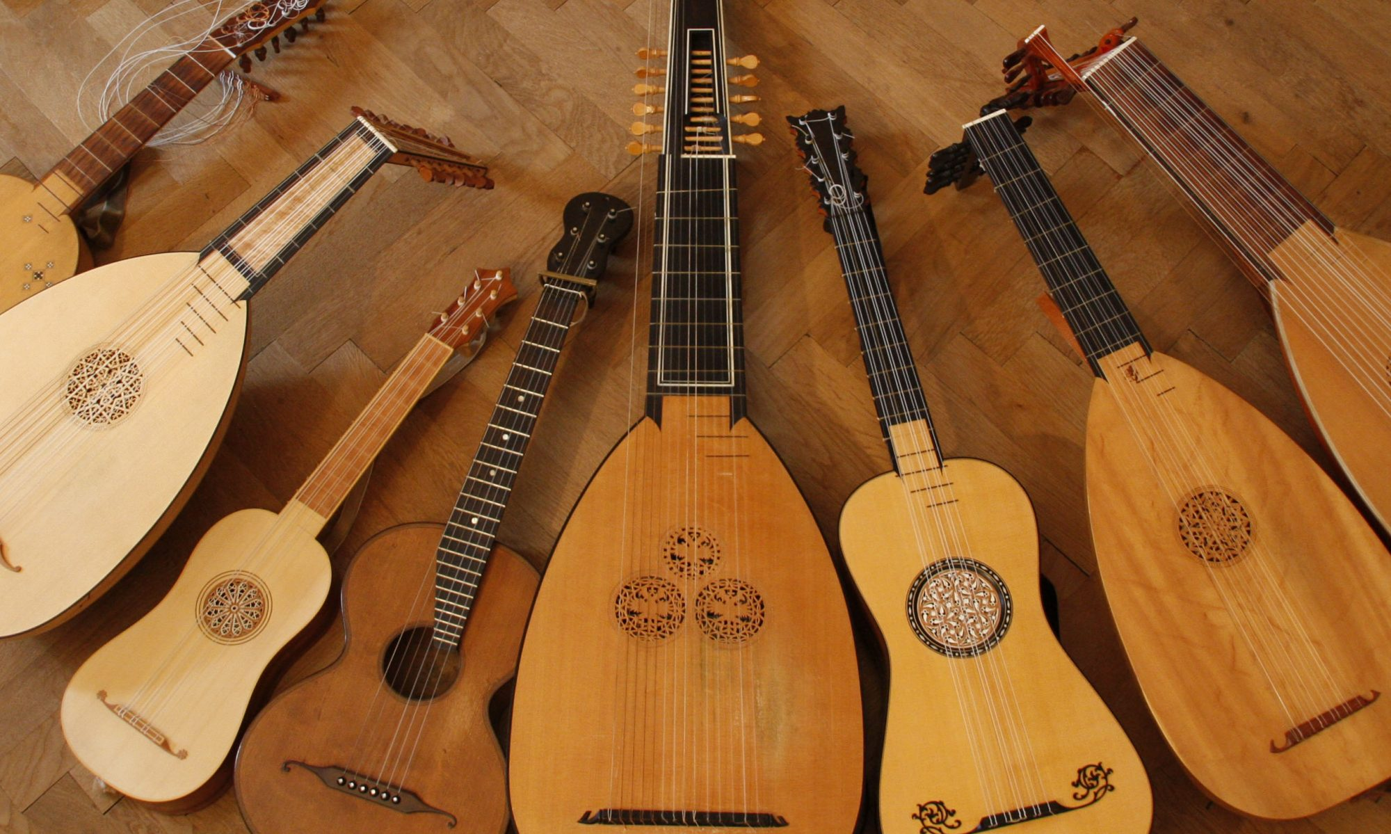 Lutes, Guitars, Telescopes and more